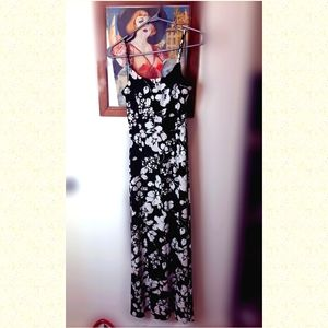 Calvin Klein maxi dress floral fresh and gorgeous